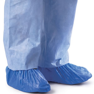 Impervious Polyethylene Shoe Covers