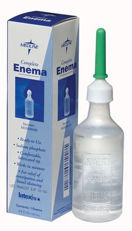 Enema Solutions  Sodium phosphate enema  4.5 fl oz  bulk  Qty. 24