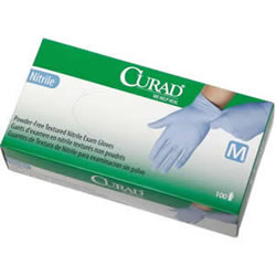 CURAD Nitrile Exam Gloves 150/Box