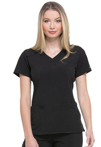 Dickies EDS Essentials Mock Wrap Top #DK625
