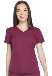Dickies Dynamic V-Neck Scrub Top #DK730