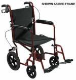 Expedition Aluminum Transport Chair w Loop Locks  19  Blue