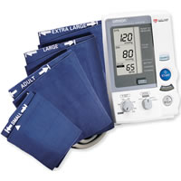 Omron Dlx Intellisense Digital BP w 4 Cuffs-Auto Inflation