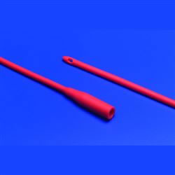 Red Rubber Robinson Catheters 16fr Pack 10
