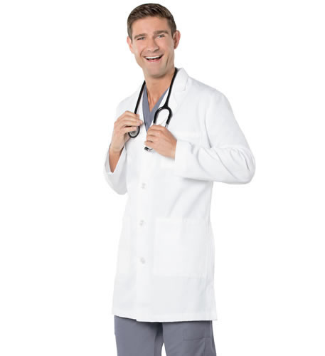 "Landau Men's 37"" Lab Coat Style # 3124"