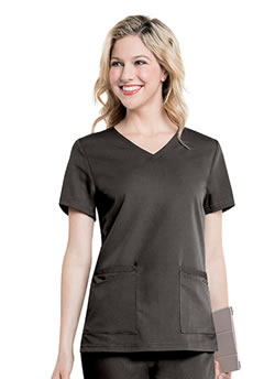 Urbane Ultimate Women's Soft 4 Pocket V-Neck Scrub Tops #9063