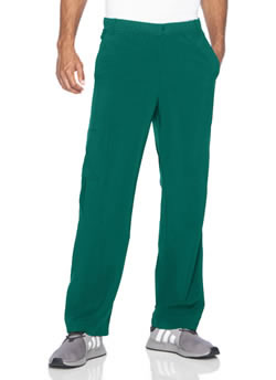 Urbane Performance Men's Pants with Knit Panel Inset #9253