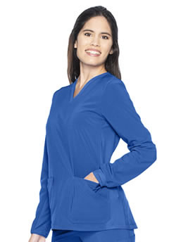 Urbane Performance Women's Long Sleeve Scrub Tops #9740