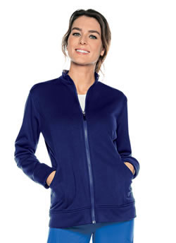 Urbane Performance Women's Empower Warm-up Scrub Jackets #9872