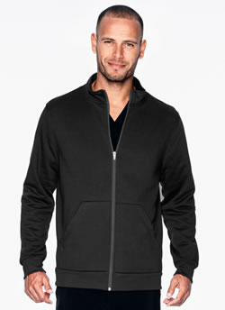 Urbane Performance Men's Fleece Lined Zipper Jacket #9972