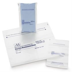 Medline Sterilization Pouch  Dust Cover  Self Seal  8  x 12   Qty.1000