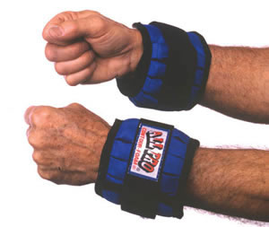 Adjustable Wrist Weights- To 2 Lbs.