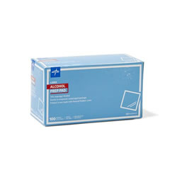 Alcohol Prep Pads and Swabsticks  Large Sterile  Qty. 1000