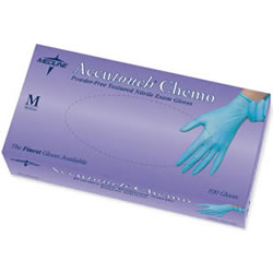 Accutouch Chemo Nitrile Exam Gloves-100/Box