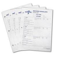 Sterilization Record Envelopes  9  x 12   Qty. 100