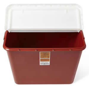 Multipurpose Containers  10 Gallon  Qty. 6