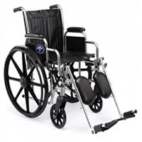 Excel 2000 Wheelchairs  Removable Desk-Length Arms  Swing-Away Detachable Elevating Legrests  Ruby