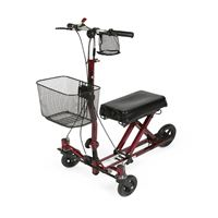 Weil Knee Walker  burgundy