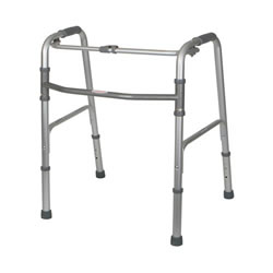 Aluminum Walkers  One-Button Walker Adult  Qty. 2