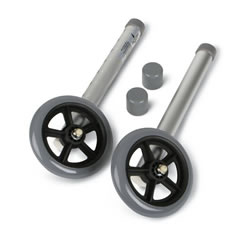 Walker Accessories  5  Wheels*  Qty. 1 pr