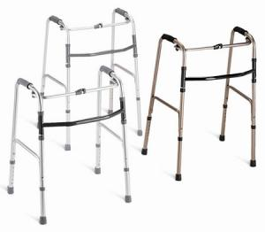 Aluminum Walkers  One-Button Walker Junior  Qty. 2