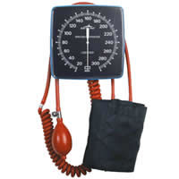 Medline Latex-Free Wall Mount Aneroid Blood Pressure Monitor
