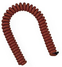 Medline Blood Pressure Parts: 8-Foot Coiled Tubing with Connectors, Latex-Free, (Neoprene)