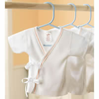 Medline Tie-Side Infant Shirts Qty. 72 #MDT2112731