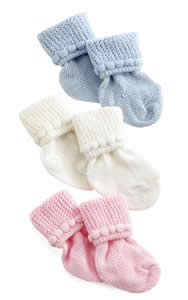 Medline Infant Booties Qty. 12 #MDT211433B