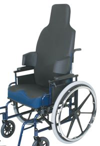 IncrediHugger Wheelchair Back  For 18  Chair  Tall