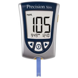 Precision Xtra Glucose Monitoring System  Precision Extra Meter