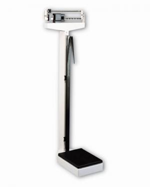 Digital Physician Scale w Height Rod 400 lb. weight cap.