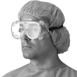 Fluid Protective Goggles  Fog-Free 36/Case