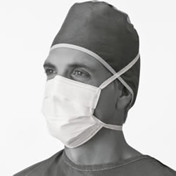 Soft Surgical Mask With Ties  300 Each   Case