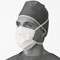 Soft Surgical Mask With Ties 50 Each   box