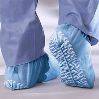 Non-Skid  3 Layer SMS Shoe Covers  Regular   300