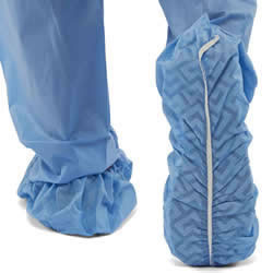 Durable Non-Skid Multi-Layer Shoe Covers-XL-Bulk #NON28859
