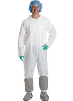 Classic Breathable Coveralls Elastic Wrist and Ankle