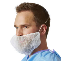 Medline Beard Protectors-1000/Case #NONSH400
