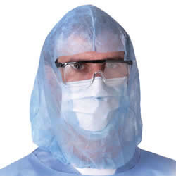 urgeon Spunbound Polypropylene Hood-300/Case #NONSH600