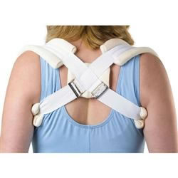 Lumbar Supports  Standard Clavicle Straps  Large