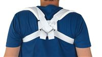 Lumbar Supports  Deluxe Cotton Clavicle Straps  Medium