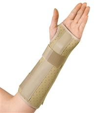 Vinyl Wrist & Forearm Splint  Left  X-Small