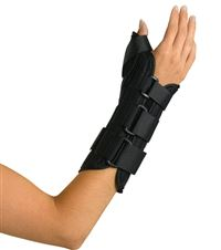 Wrist & Forearm Splint  Abducted Thumb  Right  Medium
