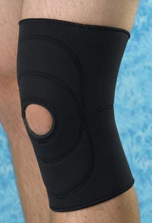 Neoprene Knee Supports  Open Patella  16  - 18   Large