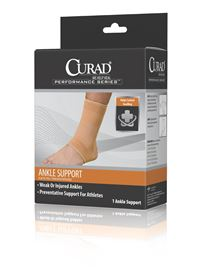 Elastic Ankle Support  10  - 11 1 2   Large
