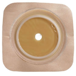"SUR-FIT Natura Two-Piece Stomahesive Skin Barrier 5"" x 5"" 2 3/4 Flange Qty. 10"