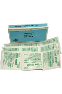 Insect Sting Wipes Bx 10