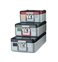 Steriset Containers - Three Quarter-Size - 18  X 11  X 5  1 4 _1