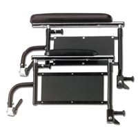 Wheelchair Accessories - Height Adjustable Removable Full-Length Arms for K4*  Qty. 1 pr